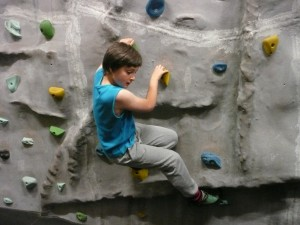 43 bouldering wall
